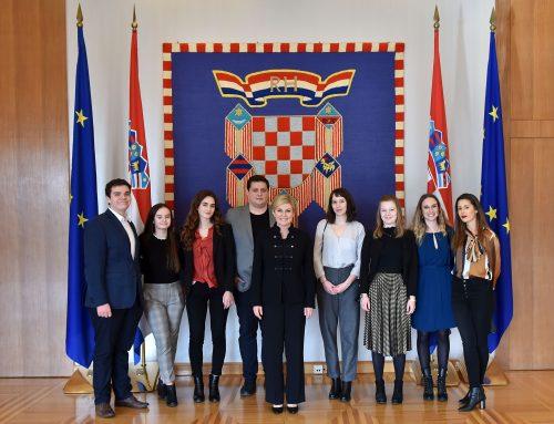 Sastanak s Predsjednicom Republike Hrvatske