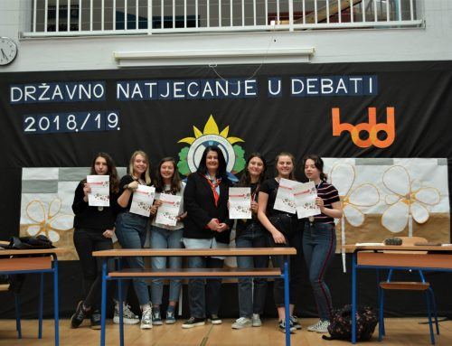 Državno natjecanje u debati 2019.