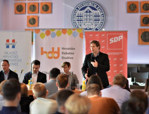 Predstavnici Mladeži HDZ-a i Foruma mladih SDP-a debatirali o položaju mladih u Hrvatskoj