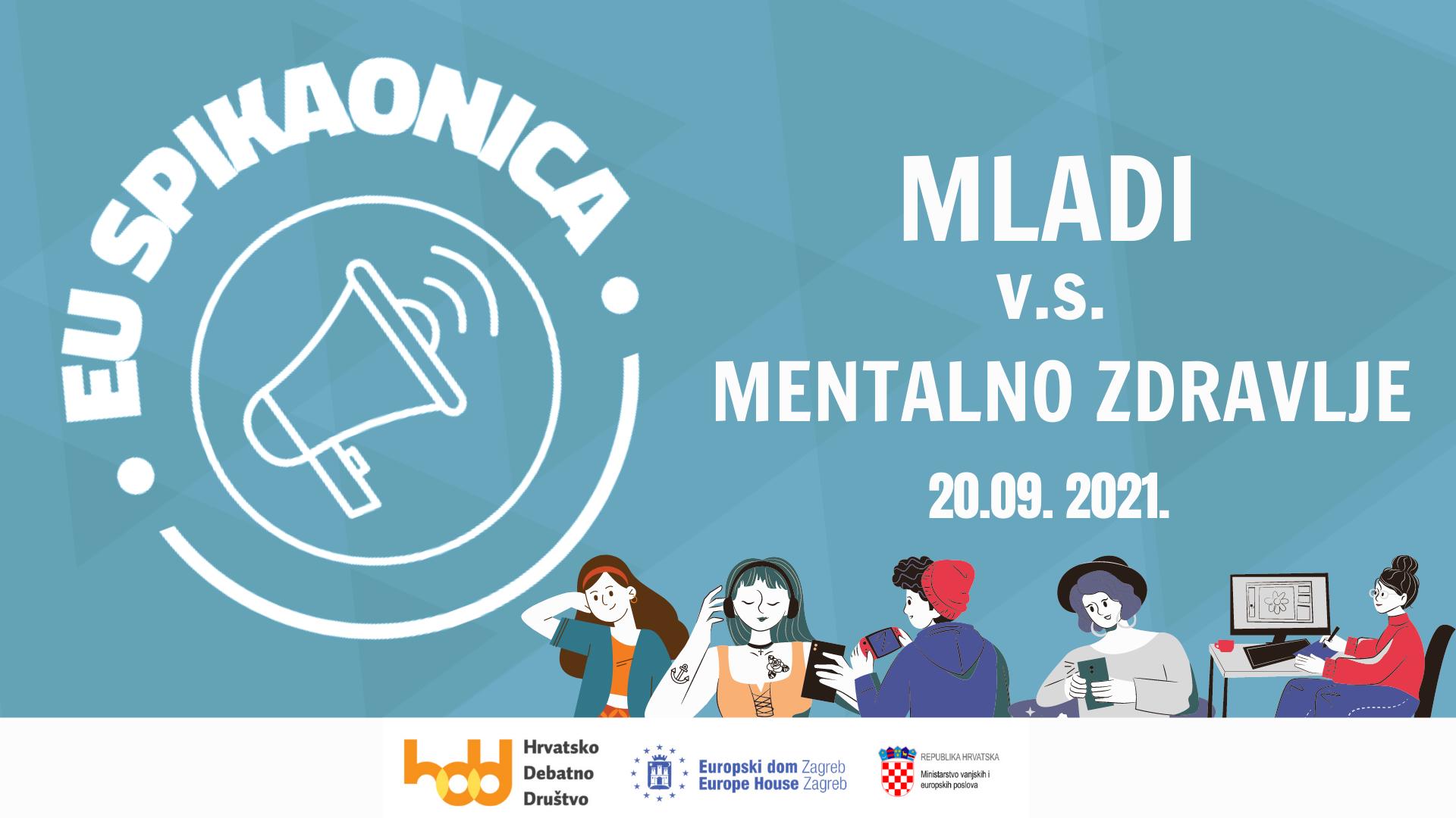 Održana prva EU spikaonica: Mladi vs mentalno zdravlje